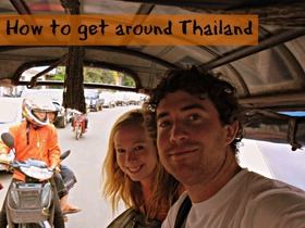 Getting around thailand article