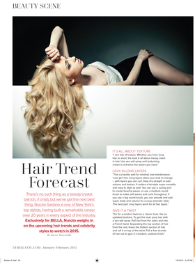 Hair trend forcast article