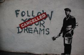 Banksy follow your dreams article