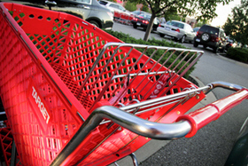 Target shopping cart article
