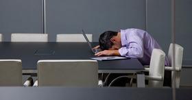 Head on desk article