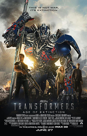 Transformers age of extinction poster article