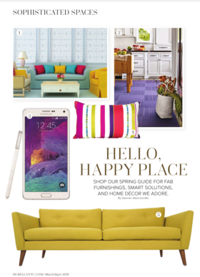Sophisticated spaces spring 1 article