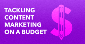 Content on a budget article