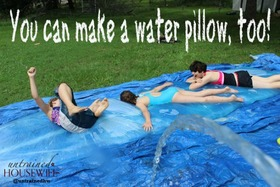 Make your own water pillow article