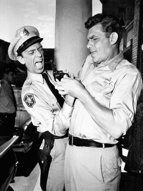 Don knotts barney fife article