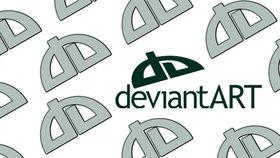 Deviantart logo portfolio site article