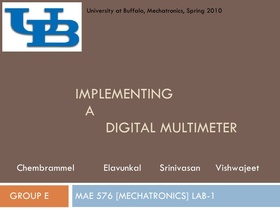 Implementing a digital multimeter 1 728 article