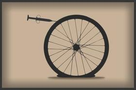 Bikewheel syringe half article