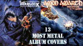 The 13 most metal heavy metal album covers of all time1 article