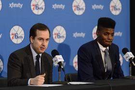 Nerlens noel sam hinkie nba philadelphia 76ers press conference article
