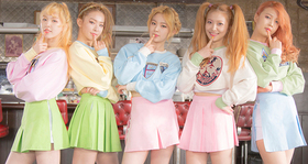 Redvelvet kpop2015 ice cream cake article