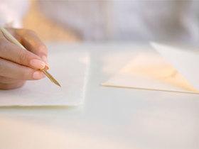 Writingaletter article