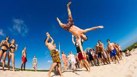 Money buy happiness beach party h article