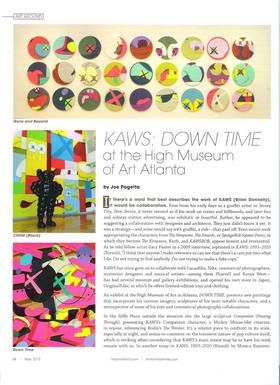 117917 nashville arts kaws down time at the high museum of art article
