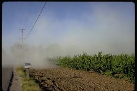 Pesticide drift article