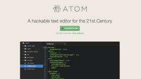 Atom editor article