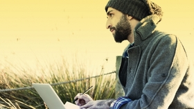 20150324160705 millenial hipster computer work outside nature article