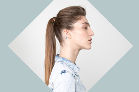 How to get a ponytail with volume article
