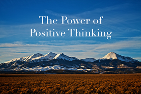 Postive thinking article