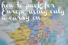 Europe carry on article
