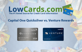 Capital one quicksilver vs venture article