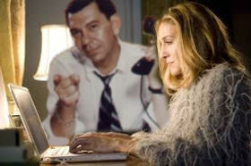 Carrie bradshaw with joe friday article