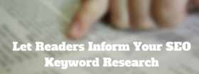 Let readers inform your seo keyword research article