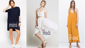 Mini midi maxi article