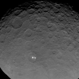 Ceres bright spots article