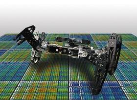 Damaged robot heals itself article