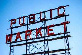 Market sign article