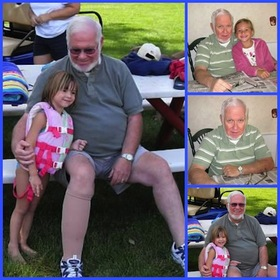 Dad fathers day collage article