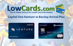 Capital one venture vs barclay arrival plus article