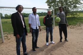 Asylum seekers soccer team in neuhardenberg 2 article