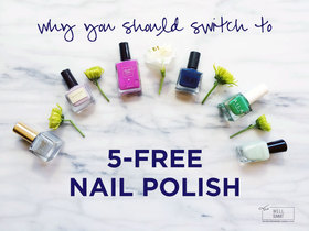 Switch to five free nail polish article