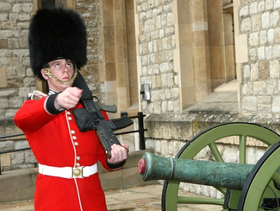 London guard article