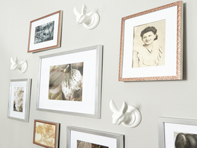Display family photos article