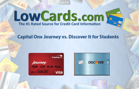 Capital one journy vs discover it students article