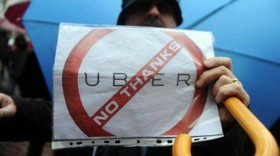 Proteste contro uber 500x279 article