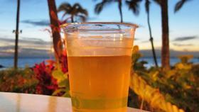 Fake hawaiian beer article