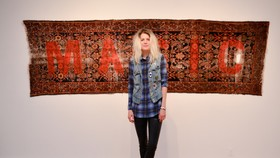 Alison mosshart makes wild paintings using remote control cars 1435864933 article