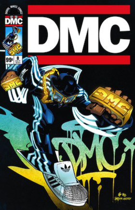 Dmc comic cover article