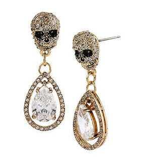 Skull earrings article