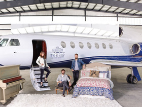Lady antebellum plane bed article