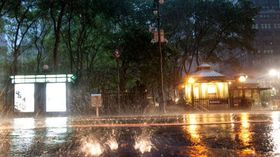 Hurricane irene closes in on new york city article