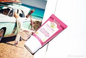 Badger rose tinted face sunscreen article