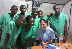 National ebola response team article
