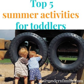 Top five summer activities for toddlers article