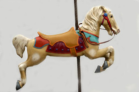 Carousel horse article